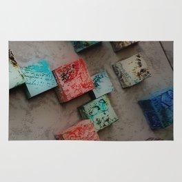 Single Ceramic Tiles Rug