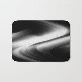 DREAM PATH (Black & Grays) Bath Mat