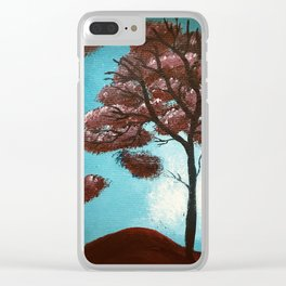 A Wishful Perspective Clear iPhone Case