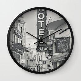 Ciudad Vieja District, Montevideo, Uruguay Wall Clock