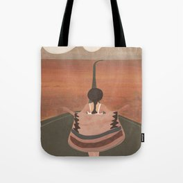 Through the Desert Highway II Tote Bag