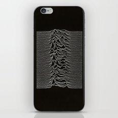 Unknown Pleasures iPhone & iPod Skin