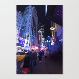 Times Square, 2014 Canvas Print