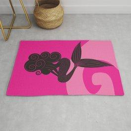 Pink Mermaid Rug