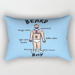 Beard Boy: Sailor Style Rectangular Pillow
