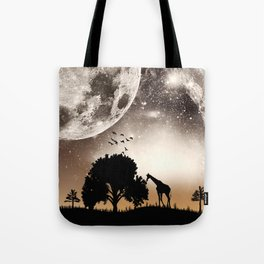 Nature silhouettes Tote Bag