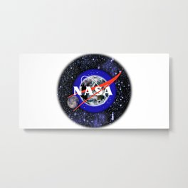 New NASA Logo Metal Print