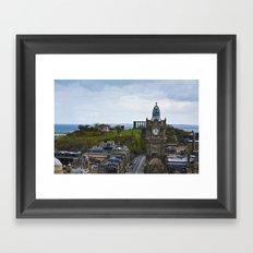 287 Steps of View Framed Art Print