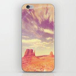 Navajo Country - America As Vintage Album Art iPhone Skin