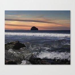 Trebarwith Strand Canvas Print