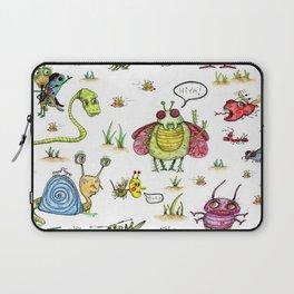 whimsical bug watercolor Laptop Sleeve