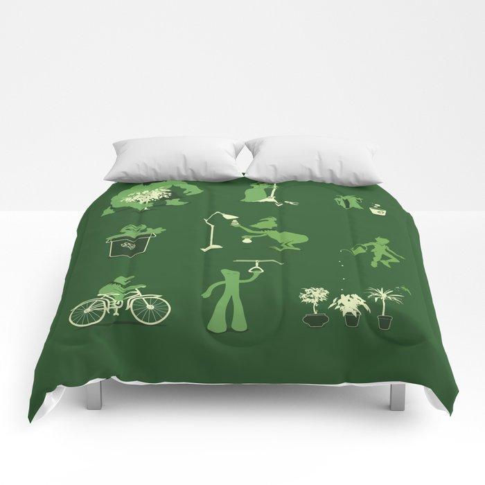 Going Green Comforters