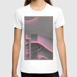Claraboya, Geodesic Habitacle, Pink neon room T-shirt