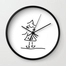 Dutchwoman the Netherlands Wall Clock