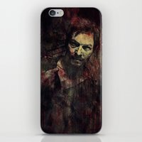 daryl iPhone & iPod Skins featuring Daryl Dixon by Sirenphotos