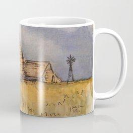 Barns and Windmill Coffee Mug
