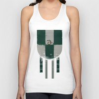 slytherin Tank Tops featuring slytherin crest by nisimalotse