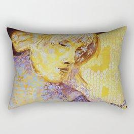 Festival Girl Rectangular Pillow