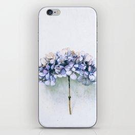 Delicate Hydrangea iPhone Skin