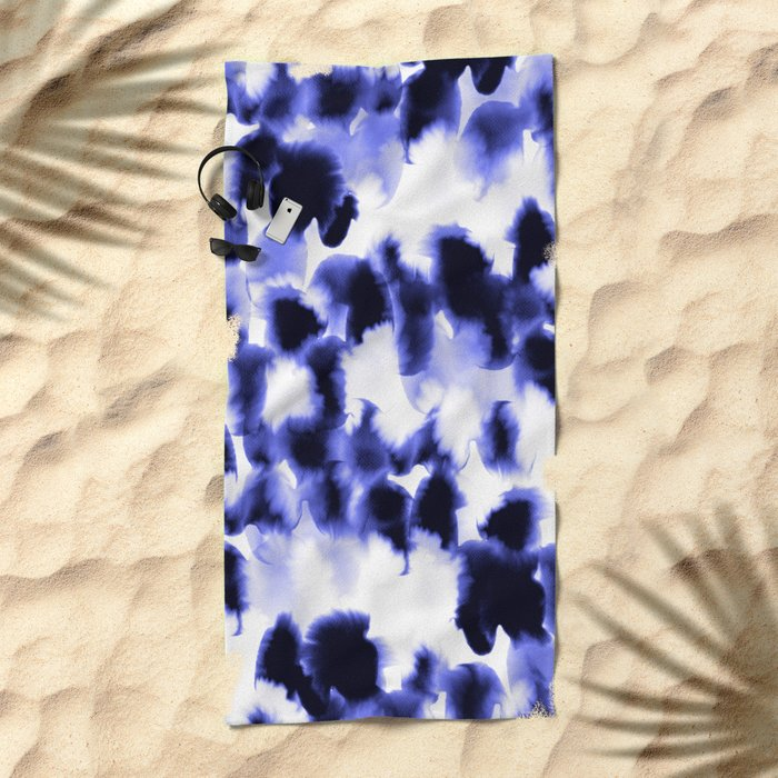 Kindred Spirits Blue Beach Towel