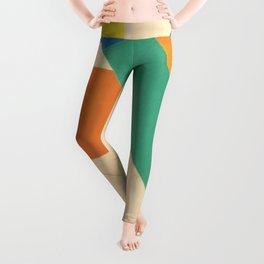 Henri Matisse - Tahiti, Memory of Oceania Tropical cut-out series portrait panting Leggings