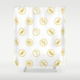 Guild Symbols Shower Curtain