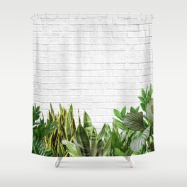 Plants Life Shower Curtain