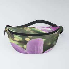 Three Spring Anemone Flowers Fanny Pack