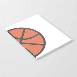 Basketball Icon Notebook