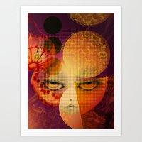 Alumbra Art Print