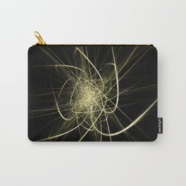 Golden Neural Network Carry-All Pouch