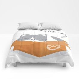 If It Fits, I Sits! Comforters