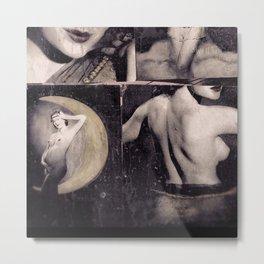 100 Nudes 001 Metal Print