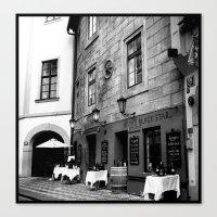 prague Canvas Prints featuring Prague by piratepool
