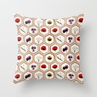 cookies Throw Pillows featuring Cookies by Marta Li