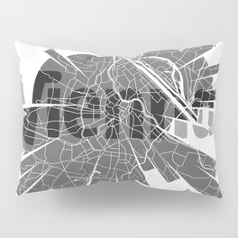 Vienna Map Pillow Sham