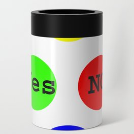 Yes No Buttons jGibney The MUSEUM Society Gifts Can Cooler