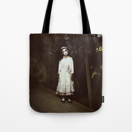 Ghost Girl Tote Bag