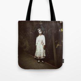 Ghost Girl Tote Bag