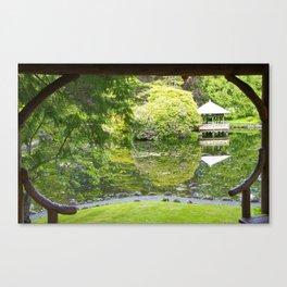Come to the Garden Canvas Print