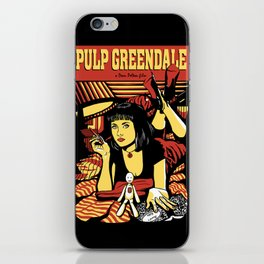 Pulp Greendale iPhone Skin