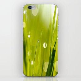 Wonderful Morning Dew - Spring Green - Beatiful Bokeh iPhone Skin