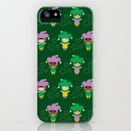 Kawaii jesters iPhone Case