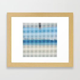 Beach Abstraction  Framed Art Print
