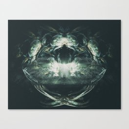 The Lair of the Beast Canvas Print