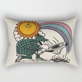 Get out the kitchen Rectangular Pillow