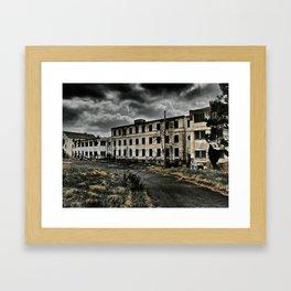 Henryton Hospital Framed Art Print
