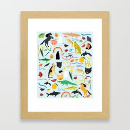 Everyone is Invited Framed Art Print