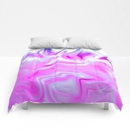Purple Fire Comforters