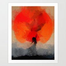 umbrellaliensunshine: atomicherry spring! Art Print
